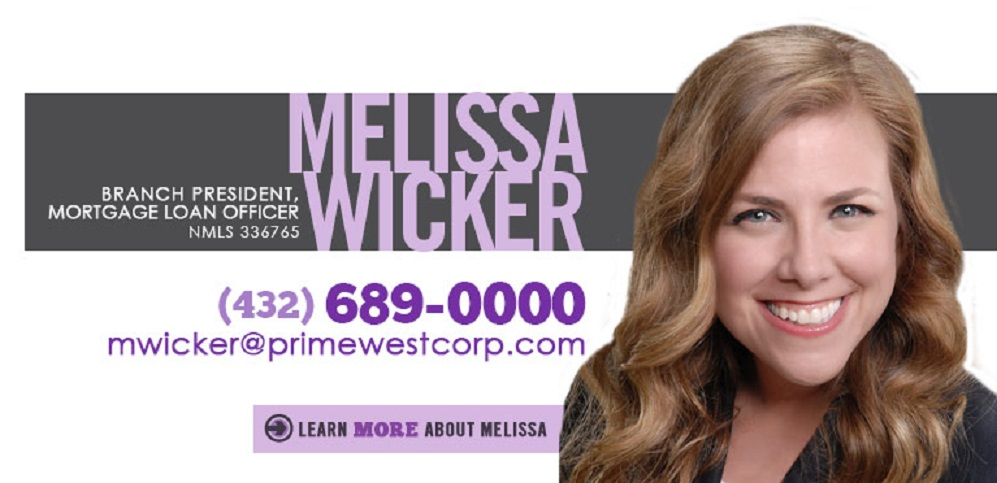 Melissa Wicker, Mortgage Loan Officer, PrimeWest Mortgage