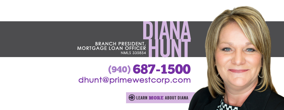 Diana Hunt, VP, Mortgage Loan Officer in Wichita Falls, Texas