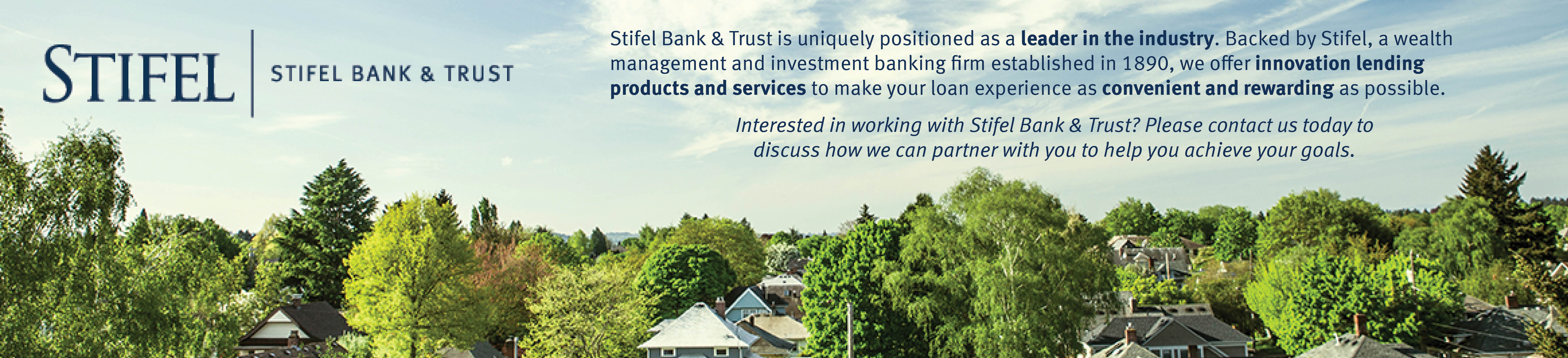 Stifel Bank & Trust | Home Lending in all 50 States