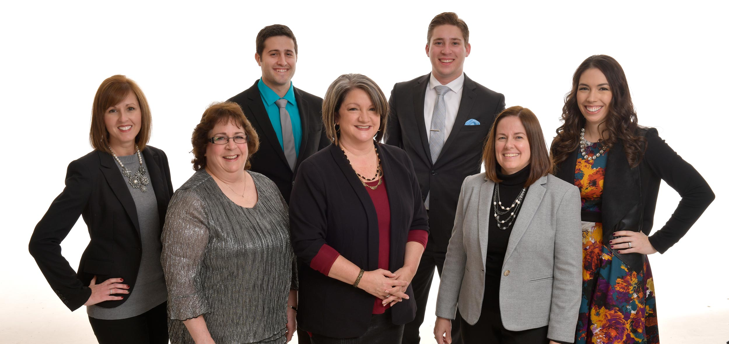 Image of First Federal Community Bank's mortgage team