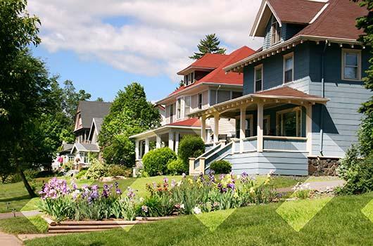 NHomeReady Mortgage - Well maintained neighborhood.