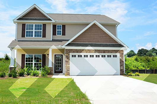 Adjustable-Rate Mortgage (ARM) - Two story home on a sunny day.
