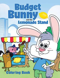 Stifel Bank Budget Bunny Coloring Book