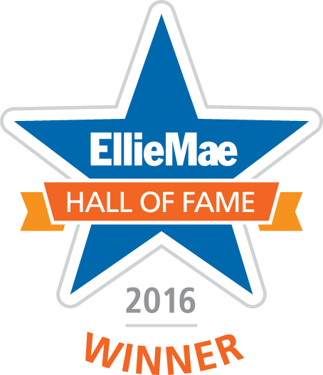 2016 Ellie Mae Hall of Fame Winner