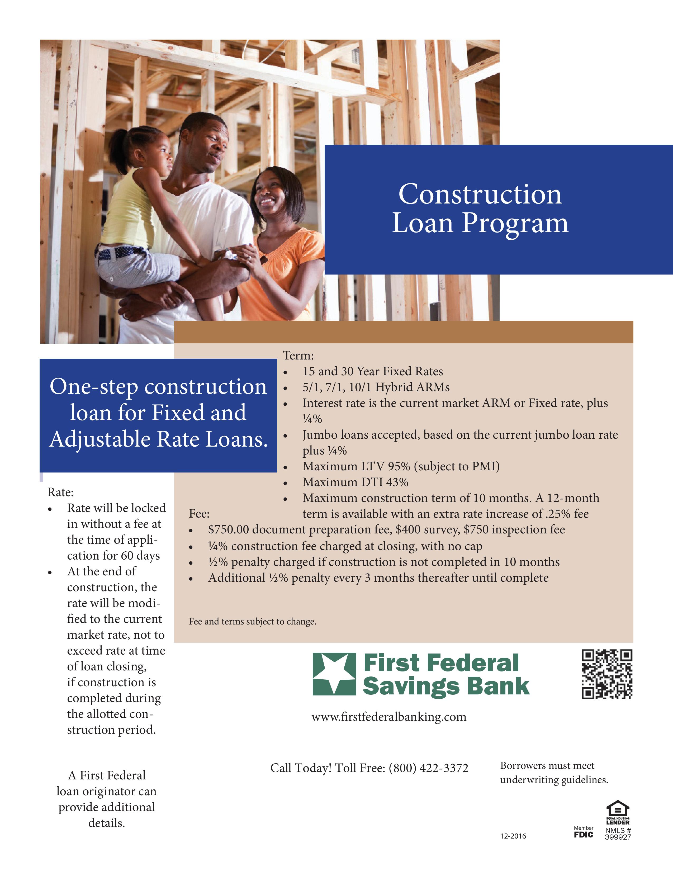 construction loan program