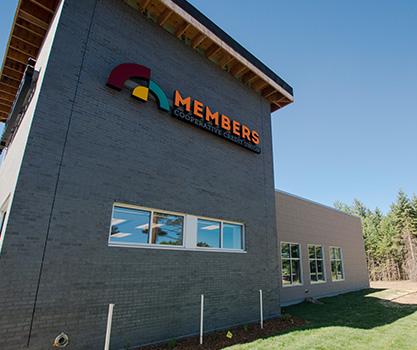 Members Cooperative Credit Union in Sandstone MN