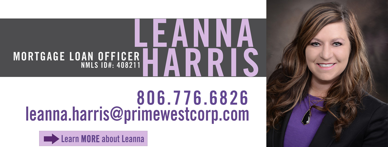 Applying online for a mortgage loan with Leanna