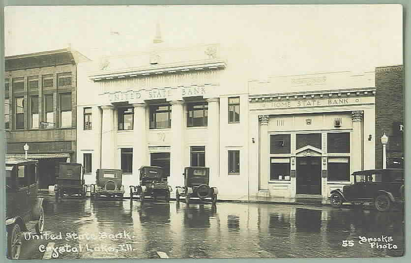 old bank picture from 1930s