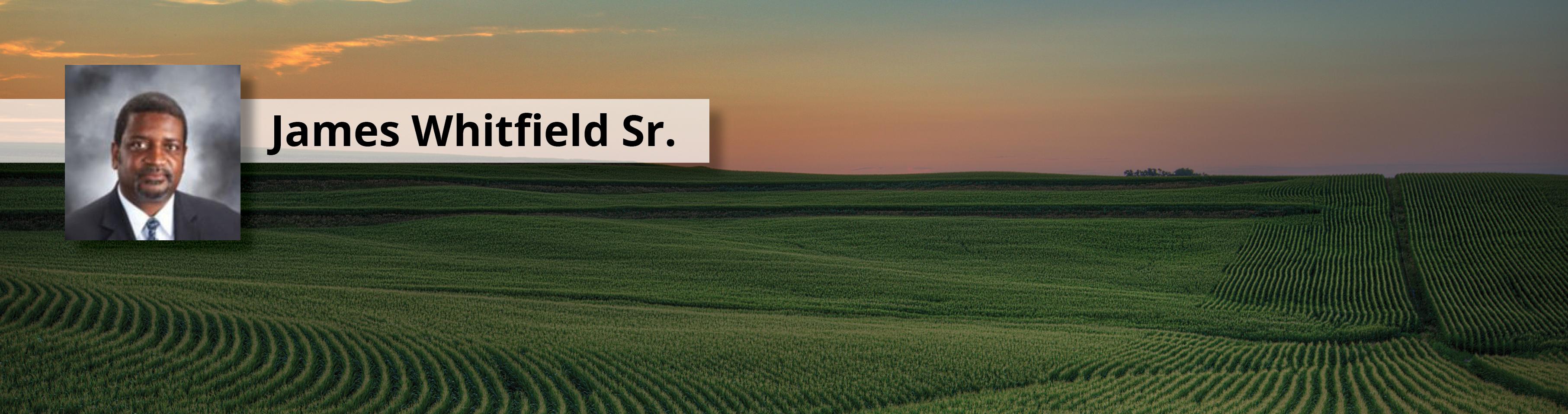 James Whitfield Sr. Photo Banner