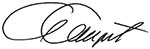 Alex Davenport signature