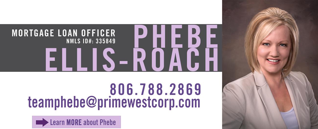 Phebe Ellis-Roach, Mortgage Loan Officer