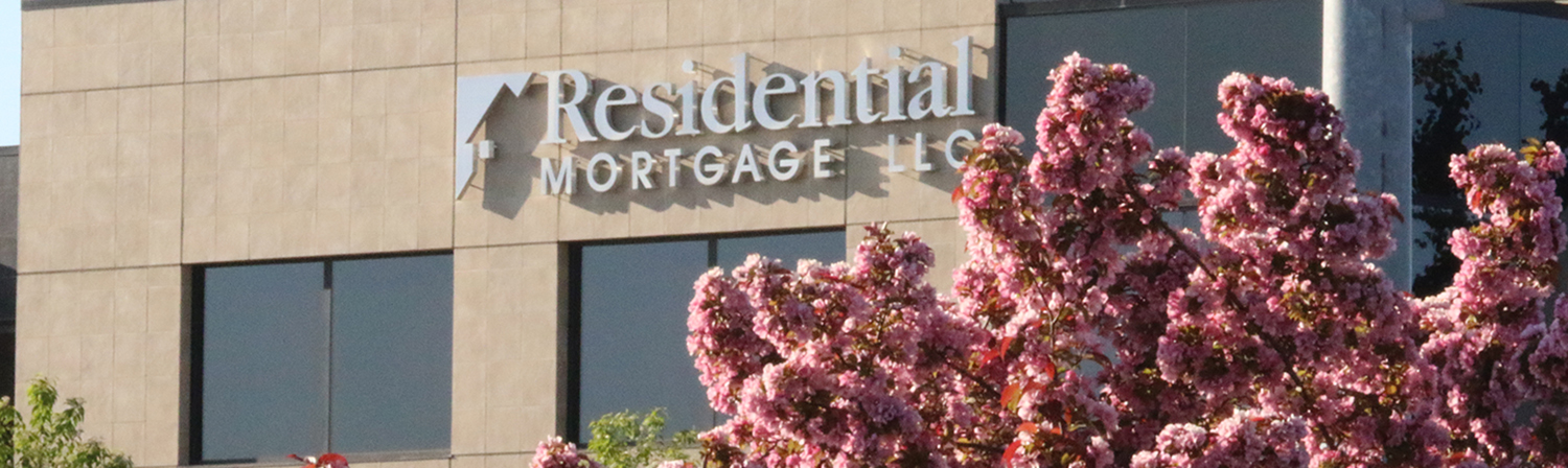 Outside of Residential Mortgage Main Branch Building