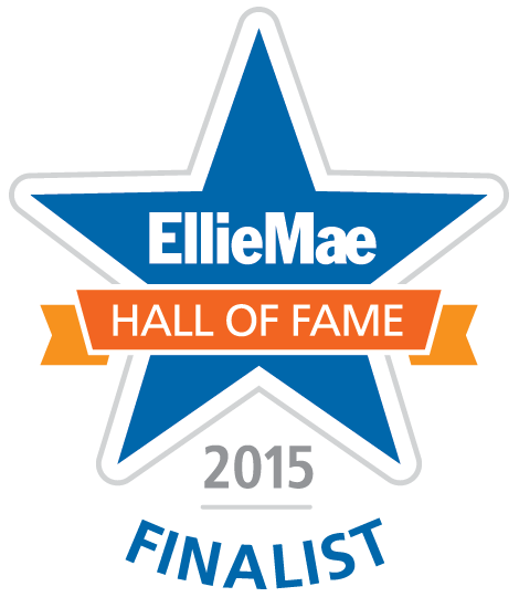 2015 Ellie Mae Hall of Fame Finalist