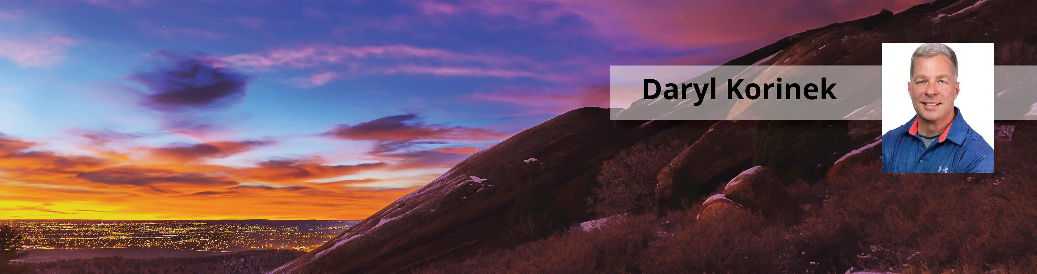 Daryl Korinek Photo Banner