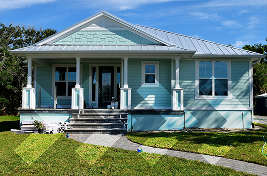 FHA Loan - Starter home with a welcoming porch.
